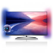 Televizor Smart TV 3D LED Full HD, 107 cm, Ambilight, PHILIPS 42PFL6008K/12 + 4 ochelari 3D pasivi