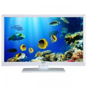 Televizor LED High Definition, 61 cm, TELETECH 24127, alb