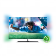 Televizor Smart LED Ultra HD 3D, 123 cm, PHILIPS Ambilight 49PUS7809/12