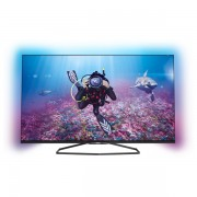 Televizor Smart LED Full HD 3D, 140 cm, PHILIPS Ambilight 55PFS7509/12