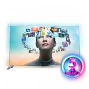 Televizor Smart LED Full HD 3D, Android, 122 cm, PHILIPS Ambilight 48PFS8109/12
