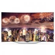 Televizor OLED curbat Full HD 3D, Smart TV, WebOS, 139 cm, LG 55EC930V