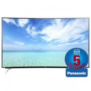 Televizor curbat LED Smart Ultra HD 3D, 165 cm, PANASONIC TX-65CR850E