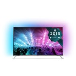 Televizor LED Smart Ultra HD, Android, 139cm, PHILIPS 55PUS7101/12