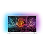 Televizor LED Smart Ultra HD, Android, Ambilight, 164cm, PHILIPS 65PUS6521/12