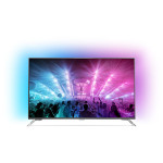 Televizor LED Smart Ultra HD, 139cm, PHILIPS 55PUS7101/12