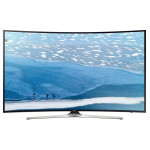 Televizor curbat LED Smart Ultra HD, 163cm, SAMSUNG UE65KU6172U