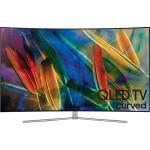 Televizor curbat QLED Smart Ultra HD 4K, 163cm, SAMSUNG QE65Q7CAM