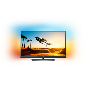 Televizor LED Smart Ultra HD, Ambilight, 139cm, PHILIPS 55PUS7502/12