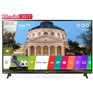 Televizor LED Smart Full HD, 108cm, LG 43LJ594V