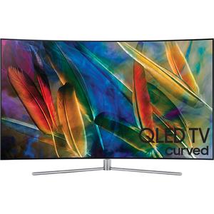 Televizor curbat QLED Smart Ultra HD 4K, 123cm, SAMSUNG QE49Q7CAM