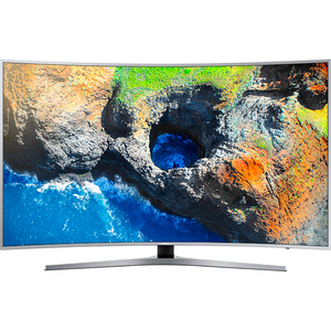 Televizor curbat LED Smart Ultra HD, 138cm, SAMSUNG UE55MU6502