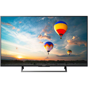 Televizor LED Smart Ultra HD, 124cm, Sony BRAVIA KD-49XE8005B, Negru