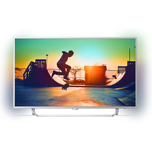 Televizor LED Smart Ultra HD, 108cm, PHILIPS 43PUS6412/12