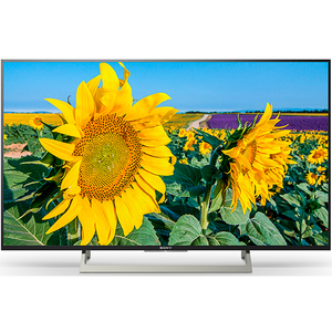 Televizor LED Smart Ultra HD, 123 cm, Sony BRAVIA KD-49XF8096B, Negru