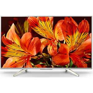 Televizor LED Smart Ultra HD, 108 cm, Sony BRAVIA KD-43XF8577S, Argintiu