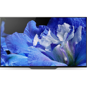 Televizor OLED Smart Ultra HD, 139 cm, Sony BRAVIA KD-55AF8B, Negru
