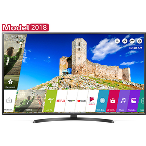 Televizor LED Smart UHD 4K, WebOS AI, 126cm, LG 50UK6470PLC