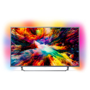 Televizor LED Smart Ultra HD, 139cm, PHILIPS 55PUS7303/12