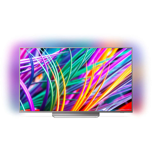 Televizor LED Smart Ultra HD, 139 cm, PHILIPS 55PUS8303/12