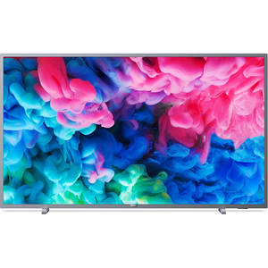 Televizor LED Smart Ultra HD, 139cm, PHILIPS 55PUS6523/12