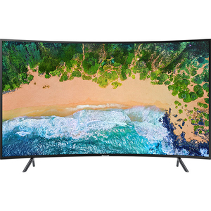 Televizor Curbat LED Smart Ultra HD, 138cm, SAMSUNG UE55NU7372