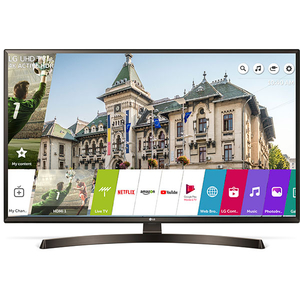 Televizor LED Smart Ultra HD 4K, 108 cm, LG 43UK6400PLF