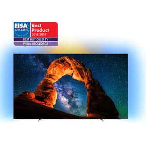 Televizor OLED Smart Ultra HD 4K, 139 cm, PHILIPS 55OLED803/12