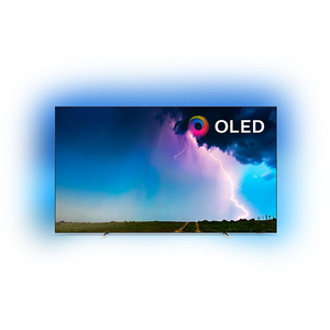 Televizor OLED Smart Ultra HD 4K, 164 cm, PHILIPS 65OLED754/12