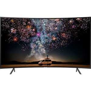 Televizor Curbat LED Smart Ultra HD 4K, 138 cm, SAMSUNG 55RU7372