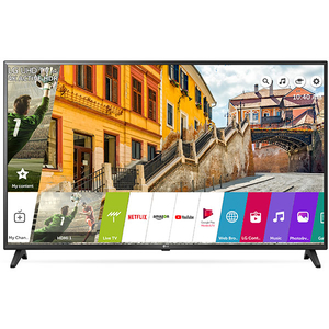 Televizor LED Smart Ultra HD 4K, 152 cm, LG 60UK6200PLA
