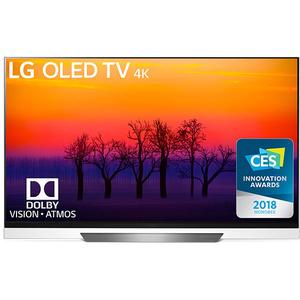 Televizor OLED Smart Ultra HD 4K, 139 cm, LG OLED55E8PLA